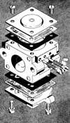 principe de fonctionnement d 39 un carburateur membranes pour moteur 2 temps. Black Bedroom Furniture Sets. Home Design Ideas
